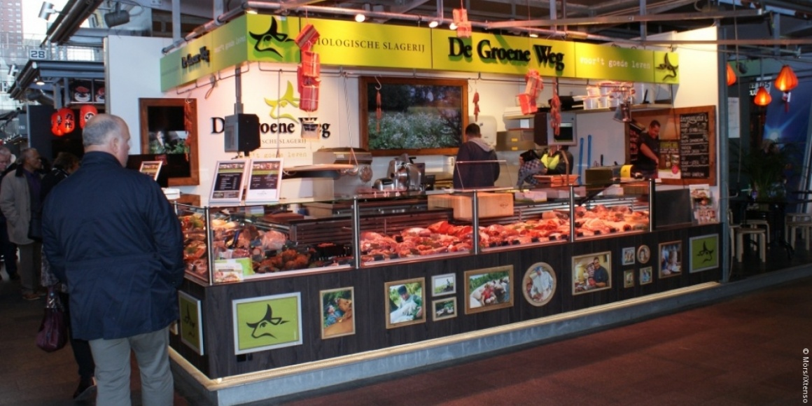Photo: A different type of market: The Market Hall in Rotterdam...