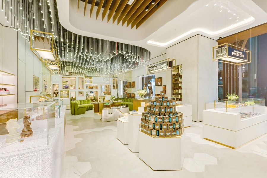 Photo: Umdasch Shopfitting opens Le Chocolat