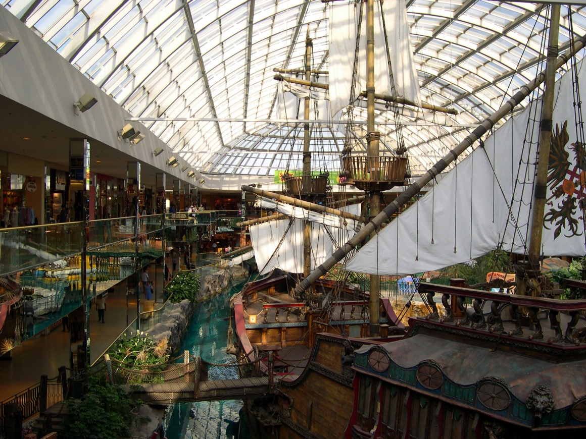 Replica of Columbus Santa Maria at West Edmonton Mall....