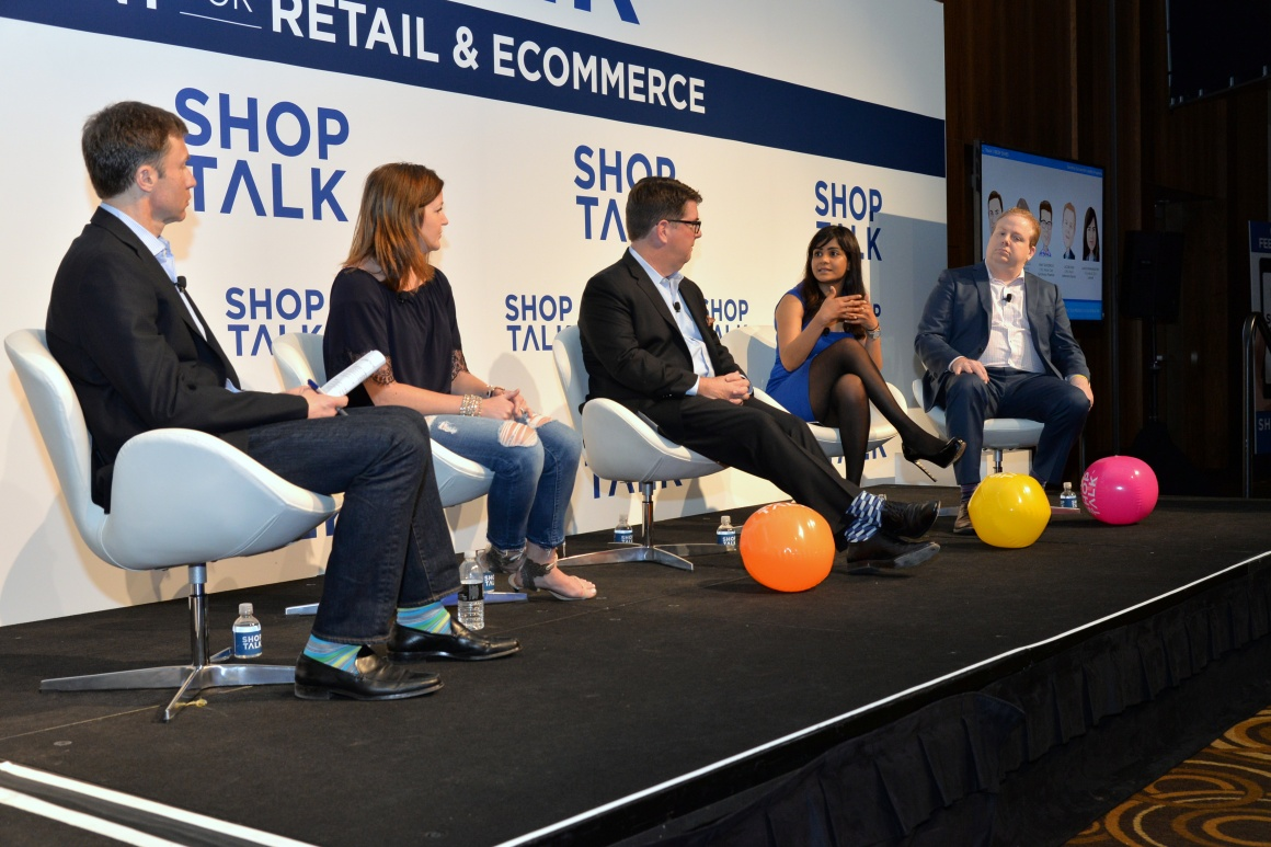 Photo: Panel discussion at a Shoptalk event; copyright: Shoptalk Europe...