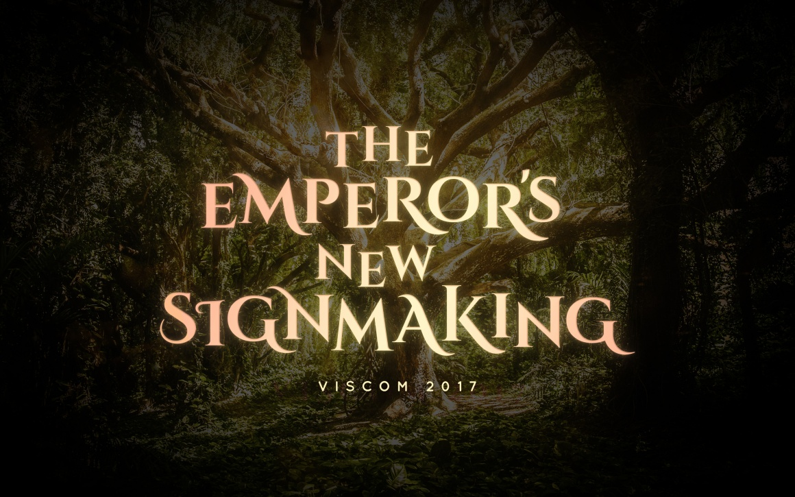 The emperor\'s new signmaking"