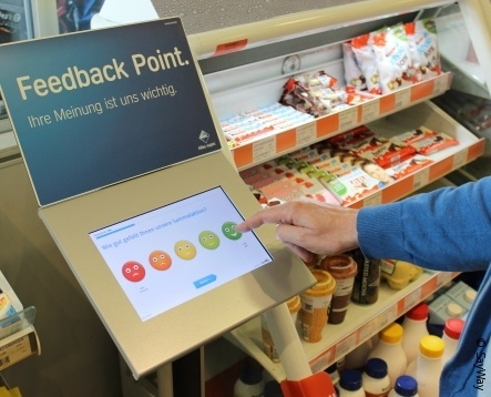 Did you enjoy your visit? Direct customer feedback at the POS - a nice tool for...