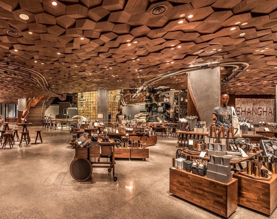 Starbucks Reserve Roastery Opened In Shanghai Ixtenso