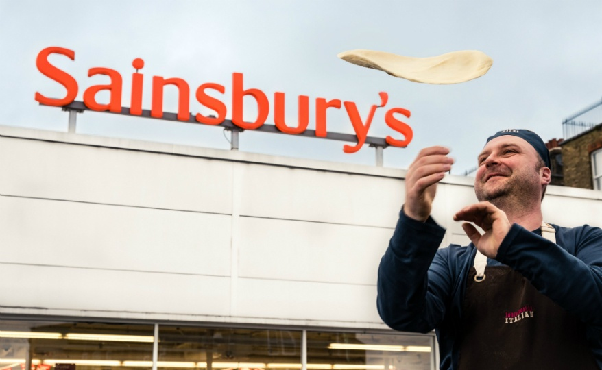 Photo: Sainsbury's launches its first in-store Zizzi pizza counter...