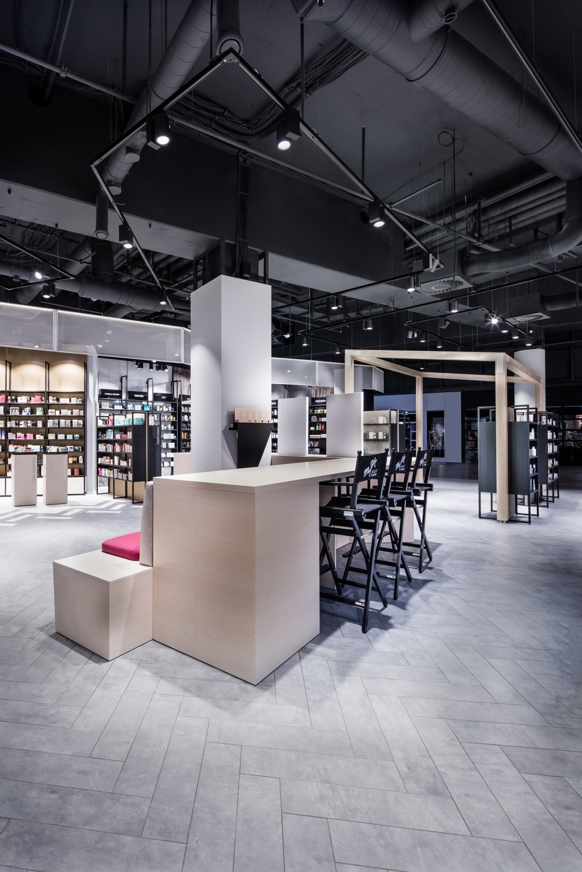 Photo: What shop design can look like: The unique store of Mußler Beauty by...