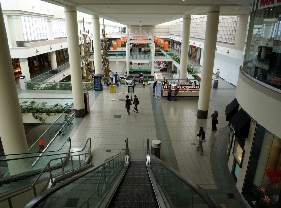 View into Mall Southdale; copyright: Bobak HaEri_via_Wikipedia...