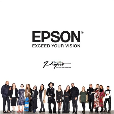Photo: EPSON digital couture event: Display of technology and high-fashion...