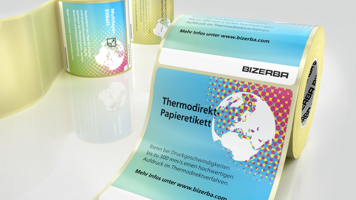 thermal direct labels; Copyright: Bizerba