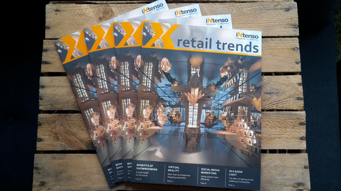 Several printed editions of retail trends - Magazine for retailers; copyright:...