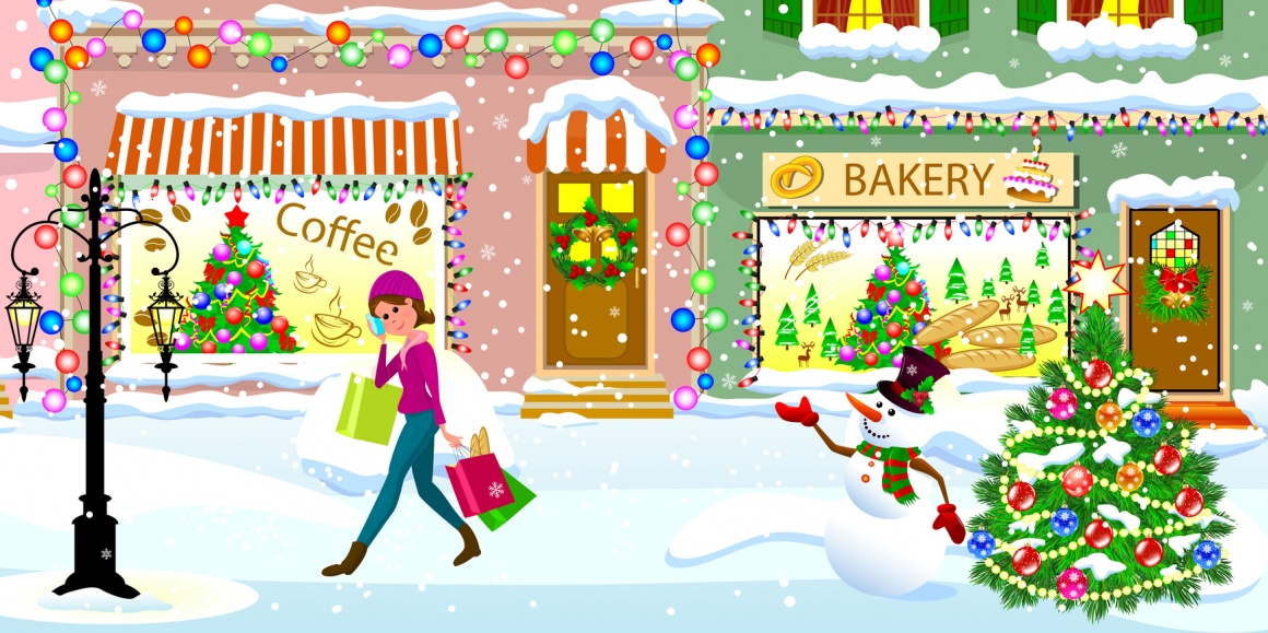 Christmas shopping; Coppyright: panthermedia.net/liolle...