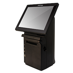 Photo: Posiflex announces new upgraded all-in-one space-saving POS system...